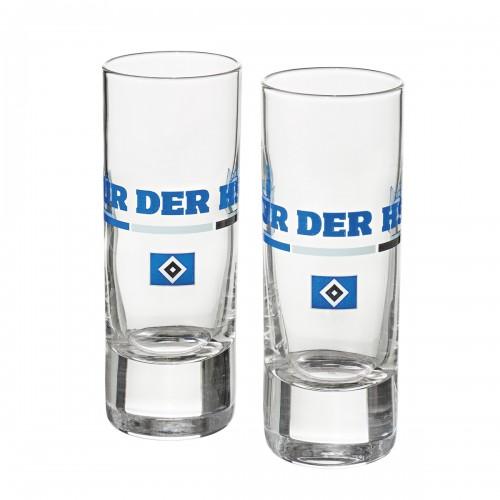 HSV Schnapsglas 2er-Set 'Nur der HSV'