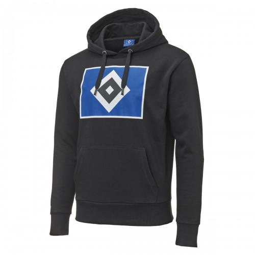 """HSV Hoodie """"Raute schwarz"""""""