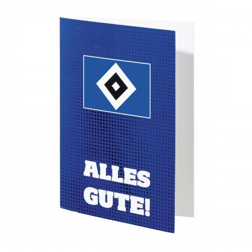 HSV Grußkarte