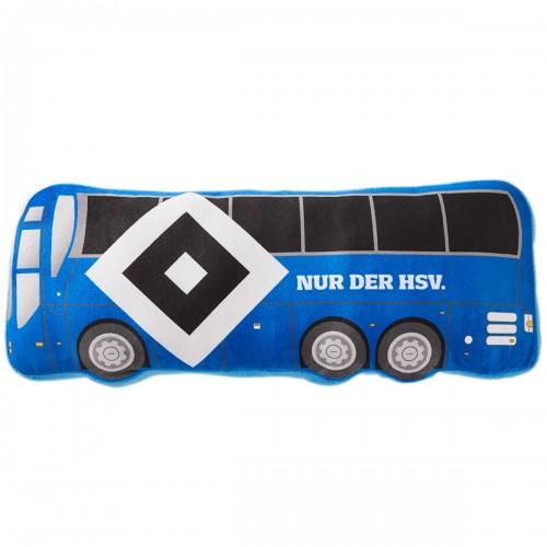 """HSV Kissen """"Mannschaftsbus"""" 50x20x7cm"""