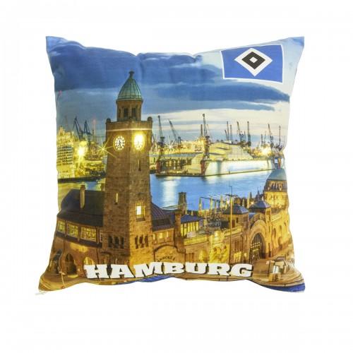 """HSV LED-Kissen """"Hamburger Hafen"""""""
