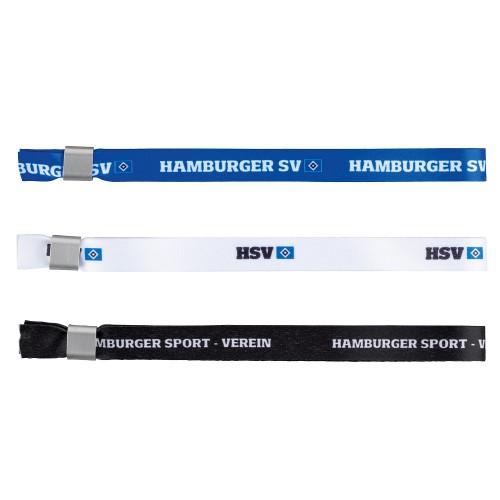 """HSV Armbänder 3er Set """"b-w-s"""""""